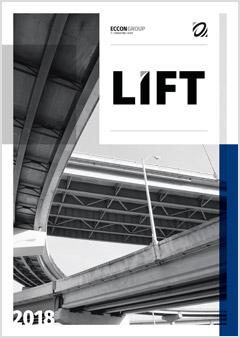 Обложка журнала «LIFT», 2018